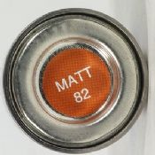 Humbrol 0082 Matt Orange Lining